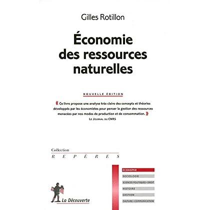 Économie des ressources naturelles
