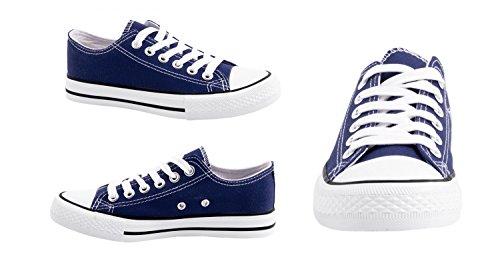 Sneakerbequeme Sneaker Homme Blau Femme 36 Für Elara 46 YfvIgym7b6