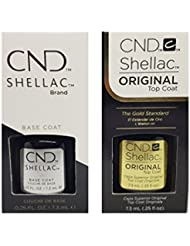 CND Original Shellac Base Coat plus Top Coat (2 x 7.3 ml)