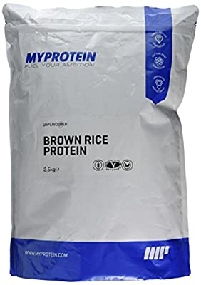 MY PROTEIN Brown Rice Unflavoured Protein Pouch, 2.5kg from MY PROTEIN