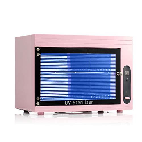 UV-Sterilisatoren 15L Handtuchschrank UV Sterilisator Desinfektion Wärmer und Edelstahl Doppel Handtuchhalter für Werkzeug für Schönheitssalon, Spa und Zuhause (Handtuchschrank) (Farbe : B)