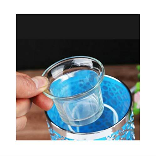 YUSDE RäUcherstäBchen Halter Incense RäUcherstäBchenhalter- Aromatherapy Lampentablett Glaskerzenhalter, Durchsichtiger Toyo Cup - Toyo Hat