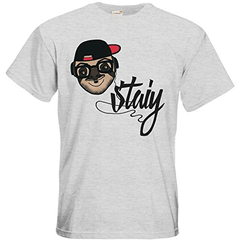 getshirts - Staiys Haute Couture - T-Shirt - Staiy Faultier Ash