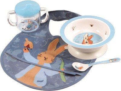 4-piece Dinnerware Set from Peter Rabbit
