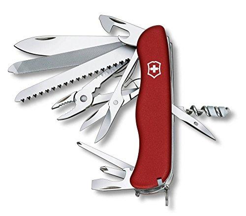 Victorinox 0.9063 WorkChamp - Navaja suiza rojo rojo Talla:talla únic