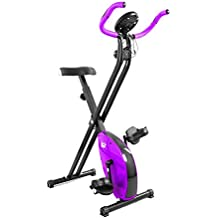 We R Sports X-Bike Purple - Elíptica de fitness ( plegable, magnético ) , color morado