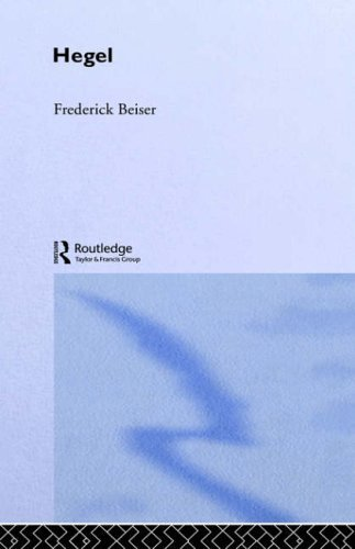 Hegel (The Routledge Philosophers) by Frederick Beiser (2005-05-09)