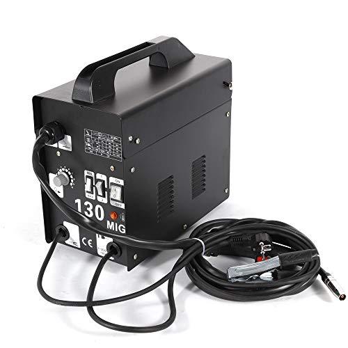 OUKANING Schweissgerät Fülldraht Schweißgerät MIG-130 Elektrodenschweißmaschine