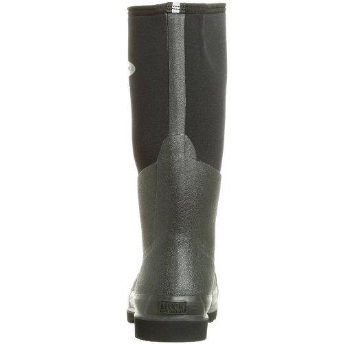 Muck Boots Chore Steel Toe, Bottes en caoutchouc de sécurité mixte adulte Black (Black 000A)