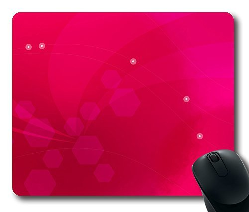 Aero Pink 5 Gaming Mouse Pad Personalized Hot Oblong Shaped Mouse Mat Design Natural Eco Rubber Durable Computer Desk Stationery Accessories Mouse Pads For Gift - Support Wired Wireless or - Mouse Hot Pink Wireless