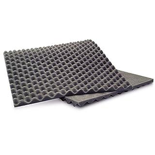 ANS Egg Crate Acoustic Soundproofing Foam 90 x 40 x 2 cm (3 Pieces)