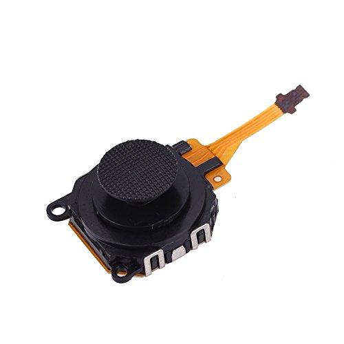 Xinzhi - Piezas de reparación analógicas del botón del palillo de la palanca de mando del reemplazo 3D para el regulador de PSP 3000