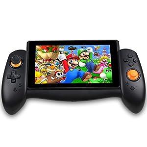 Zacro Gamepad Controller Griffe für Nintendo Switch mit Typ C Datenkabel, und Gyroskop Schwerkraftmessung mit Sechs…