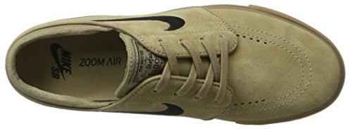 Nike Zoom Stefan Janoski, Chaussures de Skate Homme, Media Vert (Khaki/black-gum Light Brown)