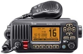 Icom IC-M423 # 05 marina VHF Transceptor con supresor de ruido activa y DSC incorporados - negro