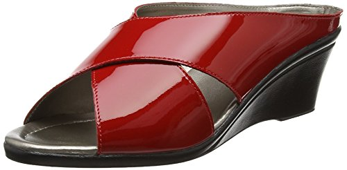 Lotus Trino, Ciabatte Donna Red (red Patent)
