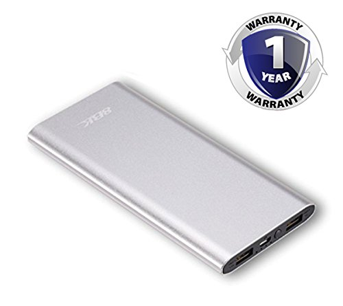 8BK Metallic Ultra Slim Lightweight Power Bank Scratch and Dust Proof with LED Battery Indicator (10000 MAH) – 870-10S