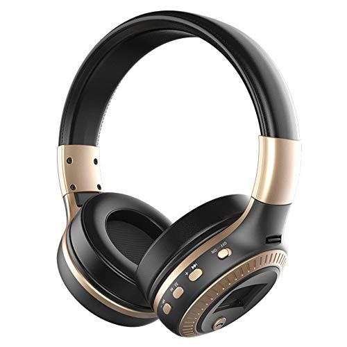 Preisvergleich Produktbild Bluetooth-Kopfhörer Over-Ear Kopfhörer Hi-fi Stereo Sound faltbare Kabellose Headsets integriertes Mikrofon Noise concelling Sport Kopfhörer für Smartphone,  für iPhone