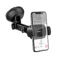 UGREEN Handyhalterung Auto Handyhalter fürs Auto Saugnapf KFZ Smartphone Autohalterung Handy Halter pkw Handy Halterung kompatibel mit iPhone 11 Pro Max X, Huawei P30 Pro P20, Galaxy S10 S9 M30s usw.