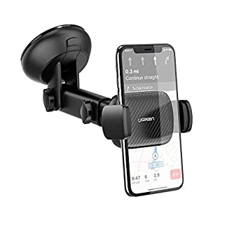 UGREEN-Autohalterung-Handy-Saugnapf-KFZ-Handyhalter-Armaturenbrett-Handyhalterung-Auto-Windschutzscheibe-fr-iPhone-11-iPhone-11-Pro-Max-Samsung-Galaxy-S10-S9-A50-A40-Huawei-P20-Lite-usw