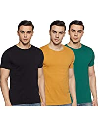 Amazon Brand - Symbol Men's Solid T-Shirt