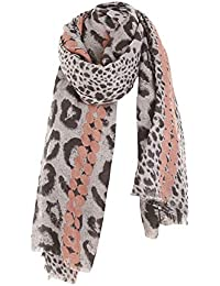 Wolfleague ÉCharpe Imprimé LéOpard Foulard Long Chaude Vogue En Automne  Hiver Cape Souple Confortable éPaississement 6f2ded7862d