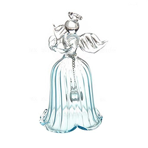 Bleu Grand Cadeau Creative Décoration Ange Vent Cloche Jardin Chime Décoration de La Maison