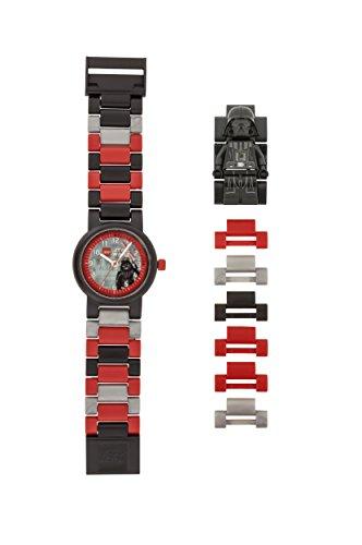 Lego Jungen Analog Quarz Uhr mit Plastik Armband 8021018