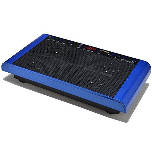 RanBow Ultra tragbare Ganzkörper-Vibrationsplatte Übung Fitness-Maschine mit Arm-Riemen und Remote, Vibration Trainer Perfekt für den Heimgebrauch