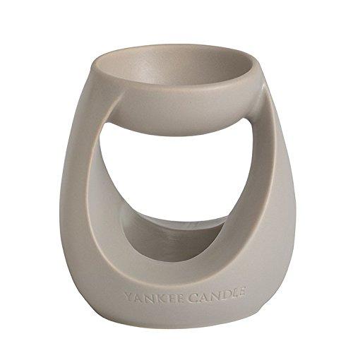 Yankee Candle 1317190 Duftlampe, 11,60 x 11,70 x 13,0 cm, Keramik, grau