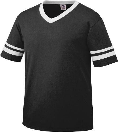 Augusta Herren T-Shirt Weiß Weiß schwarz / weiß