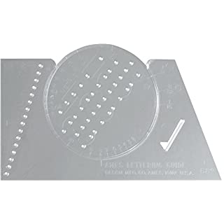 Westcott Lettering, Stenciling Paper Template (ALG-1)