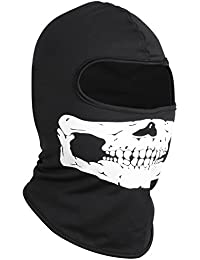 Skull Balaclava for Skiing Motorbike Sports Costumes - By TRIXES