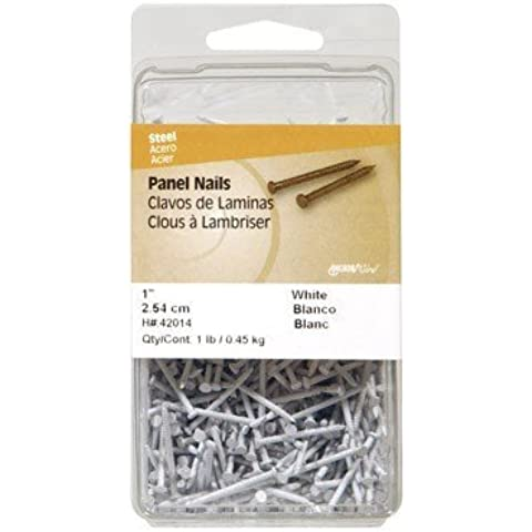 Hillman Panel Nails 1-5/8 White Card 1 Lb. by Use Manufacturer Vendor