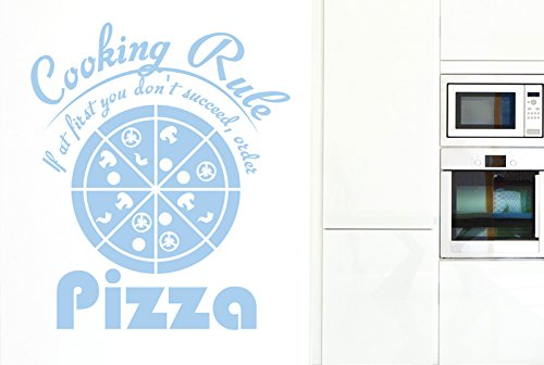 cooking-rule-if-at-first-you-dont-succeed-order-pizza-wandtattoos-wandaufkleber-gross-hohe-68cm-x-br