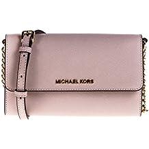 Michael Kors - Bolso cruzados para mujer rosa rosa One Size