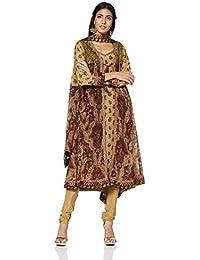 RI by Ritu Kumar Women's A Line Salwar Suit Set