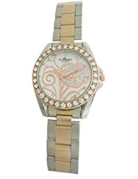 Forest Analog White Dial Women's Watch - Forest012
