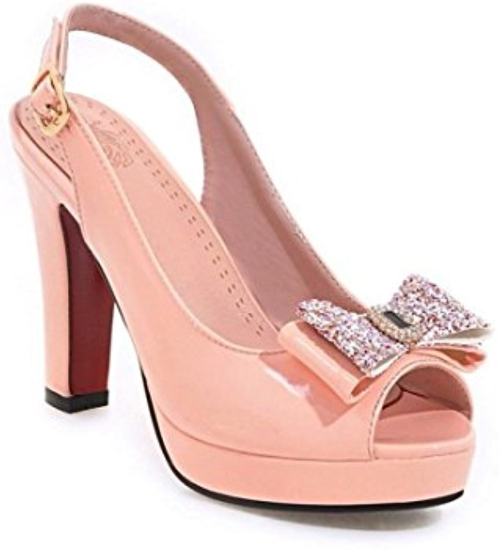 Femme  s/Bout Ouvert/Spartiates Femme/Bout Chaussures Fermé/Peinture d'été Fille Douce Poisson Bouche Chaussures Femme/Bout imperméables...B07CLMTTMZParent d6bedb