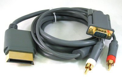 Xbox 360 HD VGA AV RCA 6 ft Cable For Microsoft Xbox 360  available at amazon for Rs.1465