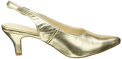 Andrea Conti 1009375, Escarpins femme Or - Gold (gold 095)