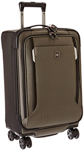 Werks Traveler 5.0 WT 22 dual-caster Spinner CARRY ON Koffer, olivgrün (Grün) - 323021