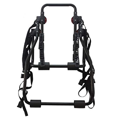 Portabiciclette Vettura può Trasportare Gancio Posteriore della Bicicletta in Acciaio al Carbonio 3 Staffe di Fissaggio, Portando Staffa Auto Camion Telaio Fisso - Nero
