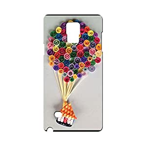 BLUEDIO Designer Printed Back case cover for Samsung Galaxy Note 4 - G5832