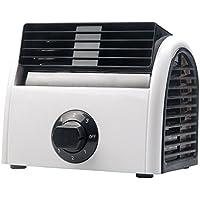 GZZ AOKESS Kleiner Elektrischer Ventilator, Schlafsaal, Schlafzimmer,  Klimatisiertes Büro, Schreibtisch, Studentenbett
