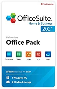 OfficeSuite Home & Business 2021   Lifetime License   Compatible with Word®, Excel®, PowerPoint® & PDF