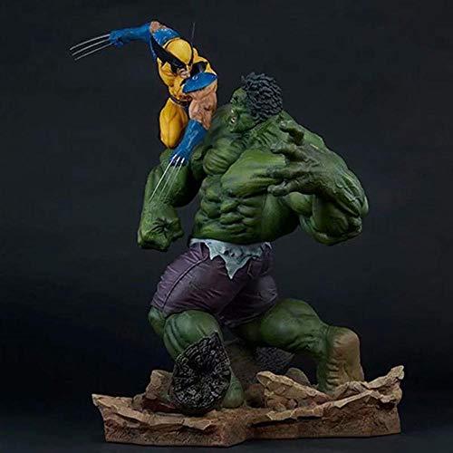 POIUYT La Figura De Acción Vengadores Wolverine Vs