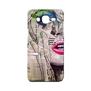BLUEDIO Designer 3D Printed Back case cover for Samsung Galaxy E5 - G0624
