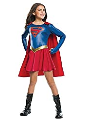 Rubie´s Girls Supergirl Tv Fancy Dress Costume X-large