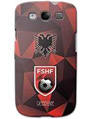 URCOVER Coque Equipe de Albanie pour Samsung Galaxy S3 | Championnat d? Europe Spécial UEFA EURO 2016 | Coque Sportif Footbal Cover Housse Étui Drapeau National